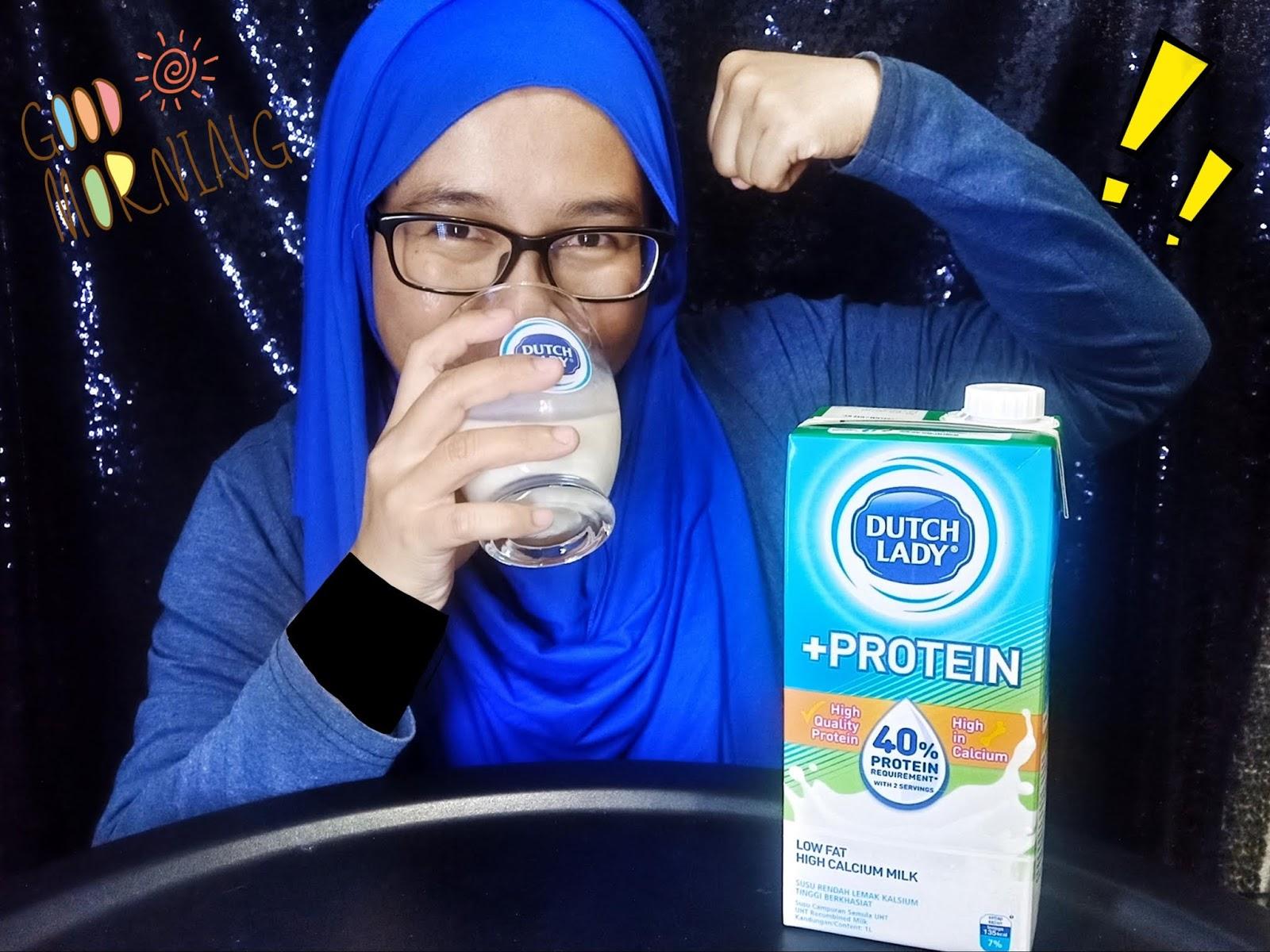 Dutch Lady +Protein Untuk Permulaan Yang Lebih Kuat