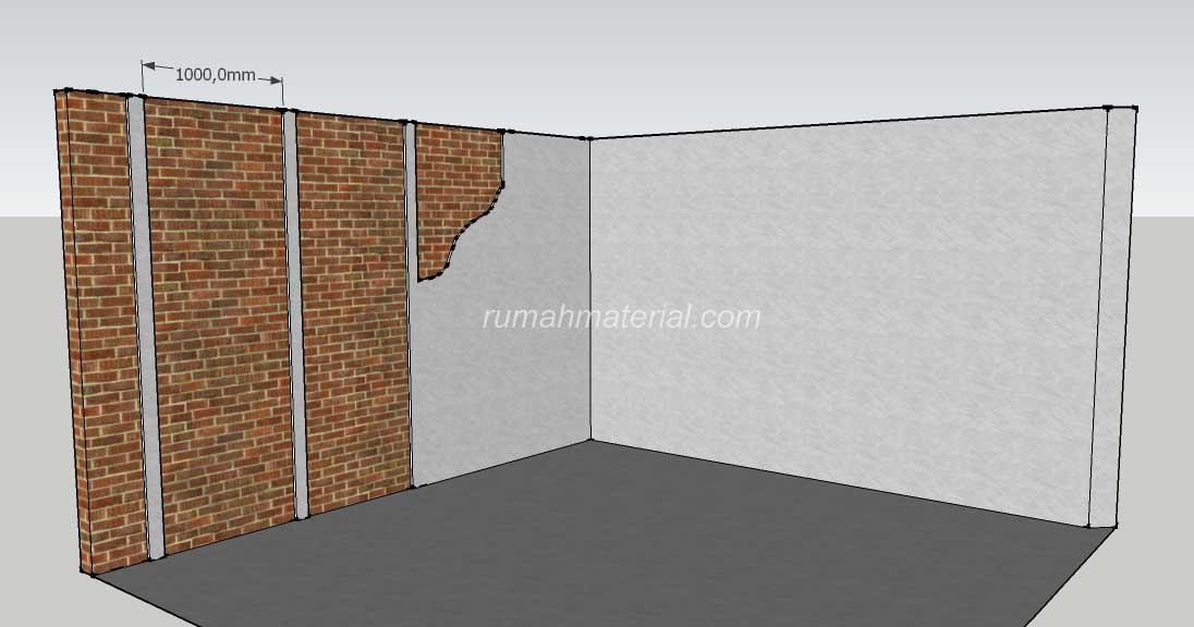 Metode Pekerjaan Plesteran Dan Acian Dinding Rumah Material