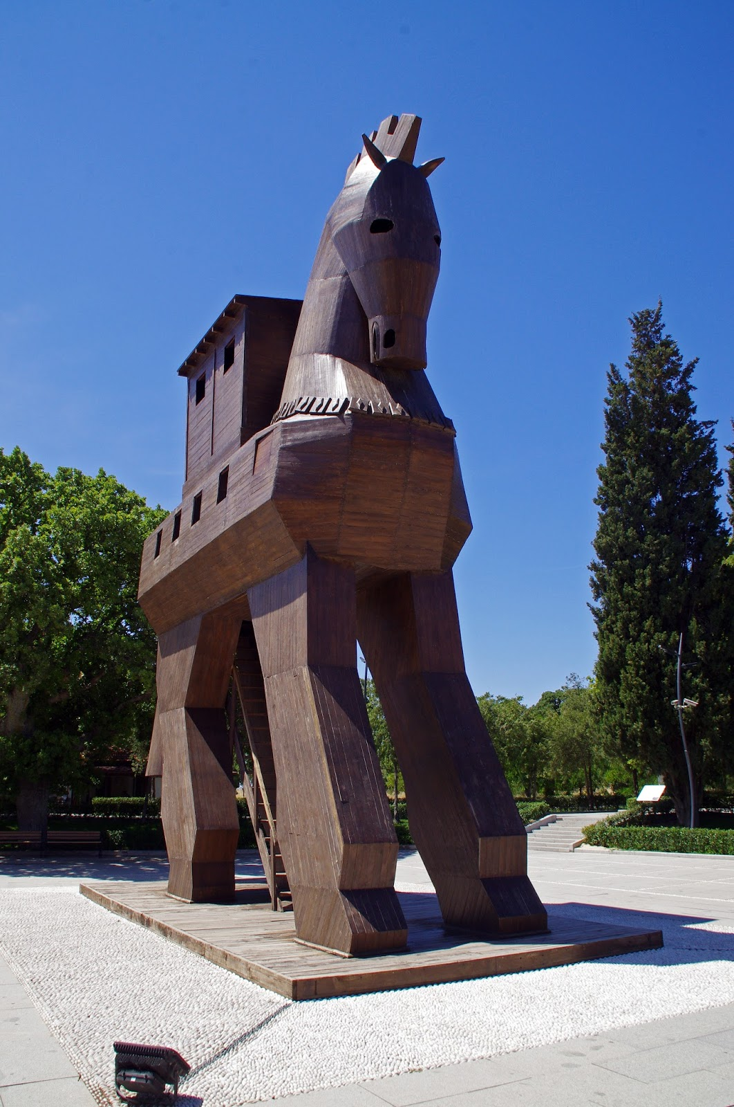 Trojan Horse Troy Turkey