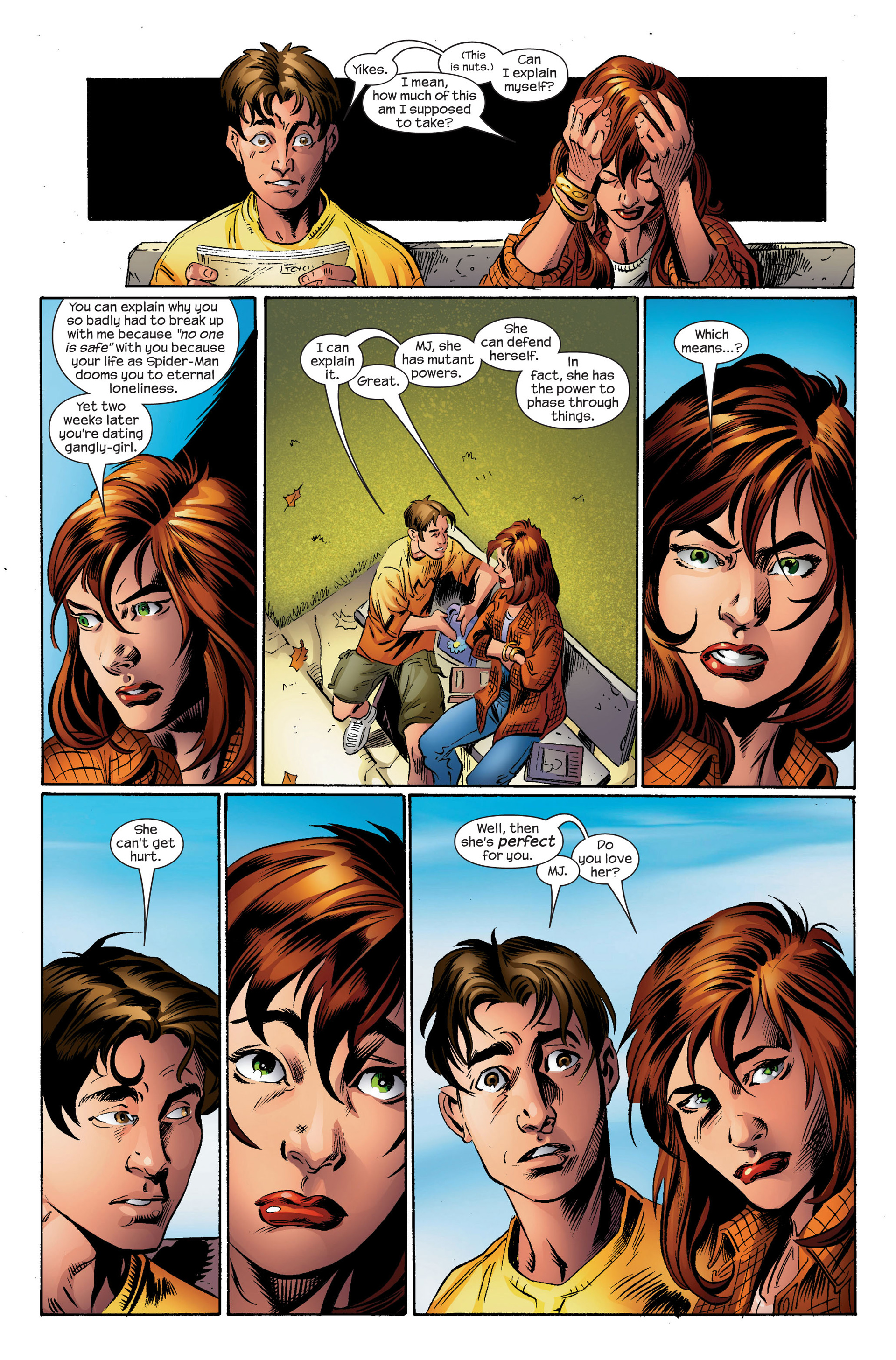 Read online Ultimate Spider-Man (2000) comic -  Issue #95 - 15