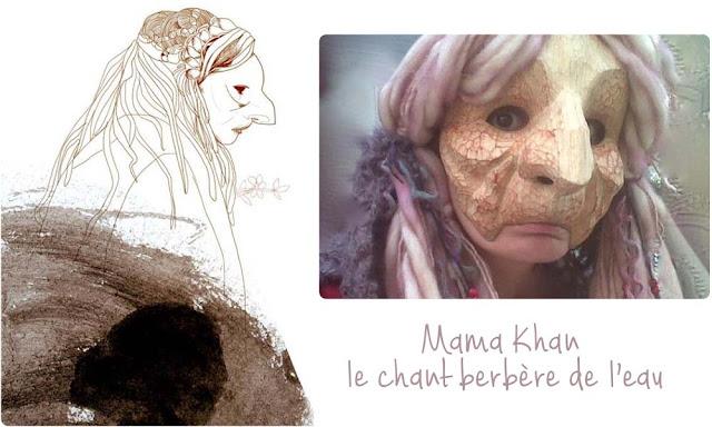 théâtre masqué avec Mama Khan