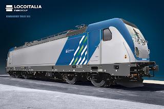 LocoItalia: la livrea delle locomotive elettriche Bombardier