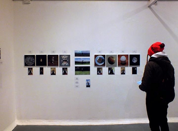 Andy's display 'Stillness' January 2015