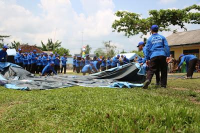 Kampung Siaga Bencana Diresmikan di Way Bungur