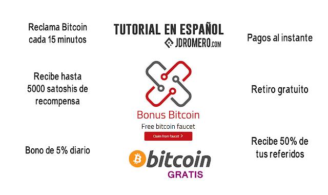 BonusBitcoin - Faucet para ganar bitcoin