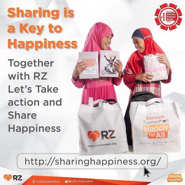 Kapanpun Dimanapun Bisa Donasi Melalui Sharing Happiness