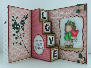 From My Craft Room Template For A 4 Step Card 6 X 6