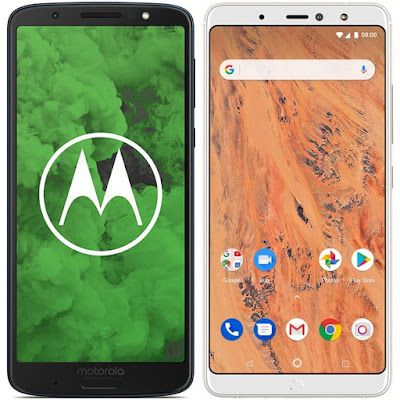 Motorola Moto G6 Plus vs bq Aquaris X2