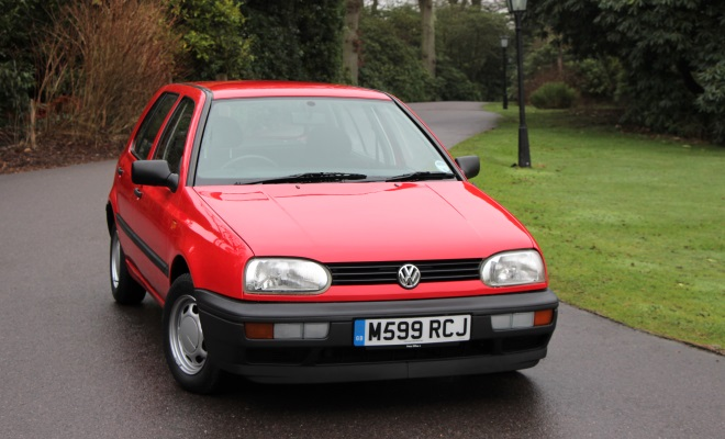 1994 VW Golf Ecomatic front view