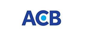 Logo ngân hàng ACB vector