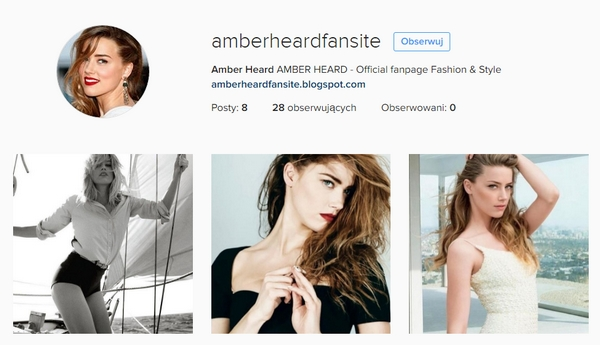 Amber Heard Instagram