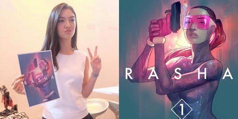 Raline Shah Jadi Tokoh Komik Superhero Wanita Pertama Indonesia
