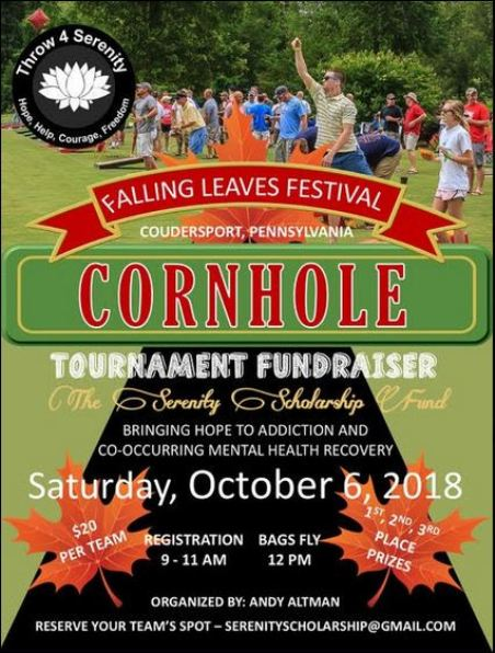 10-6 Serenity Cornhole Tournament, Coudersport