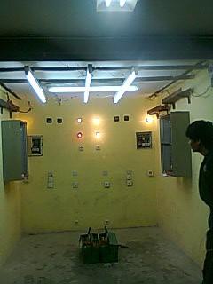 Hasil 3 Instalasi Penerangan Pabrik