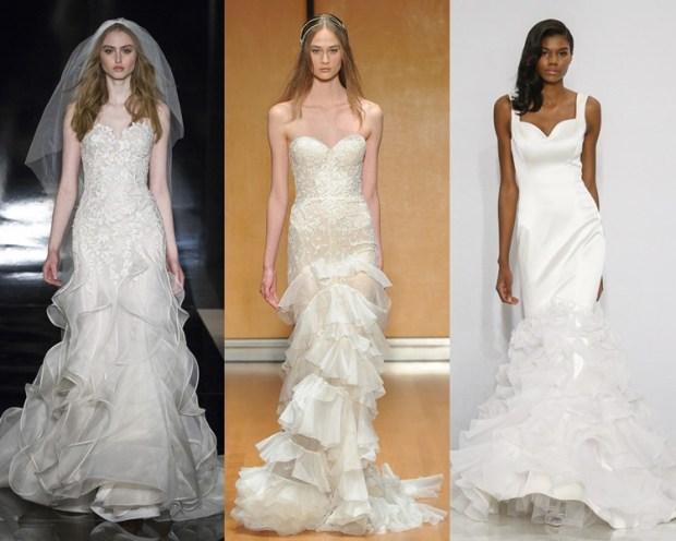 модные свадебные платья 2017-2018: фото