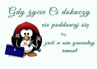 pingwin - maskotka blogowa