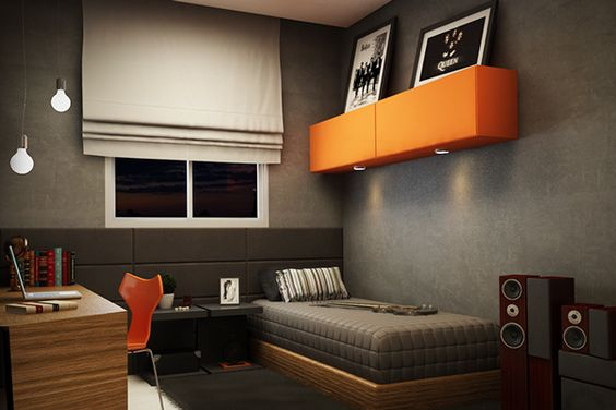 you will see that the design of the masculine bedroom decorating for single men has a very sleek masculine decor and super simple yet elegant