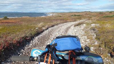 Wren Inverted Fatbike Fork Bikepacking