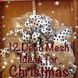 12 Ways to Use Deco Mesh in your Christmas Decor