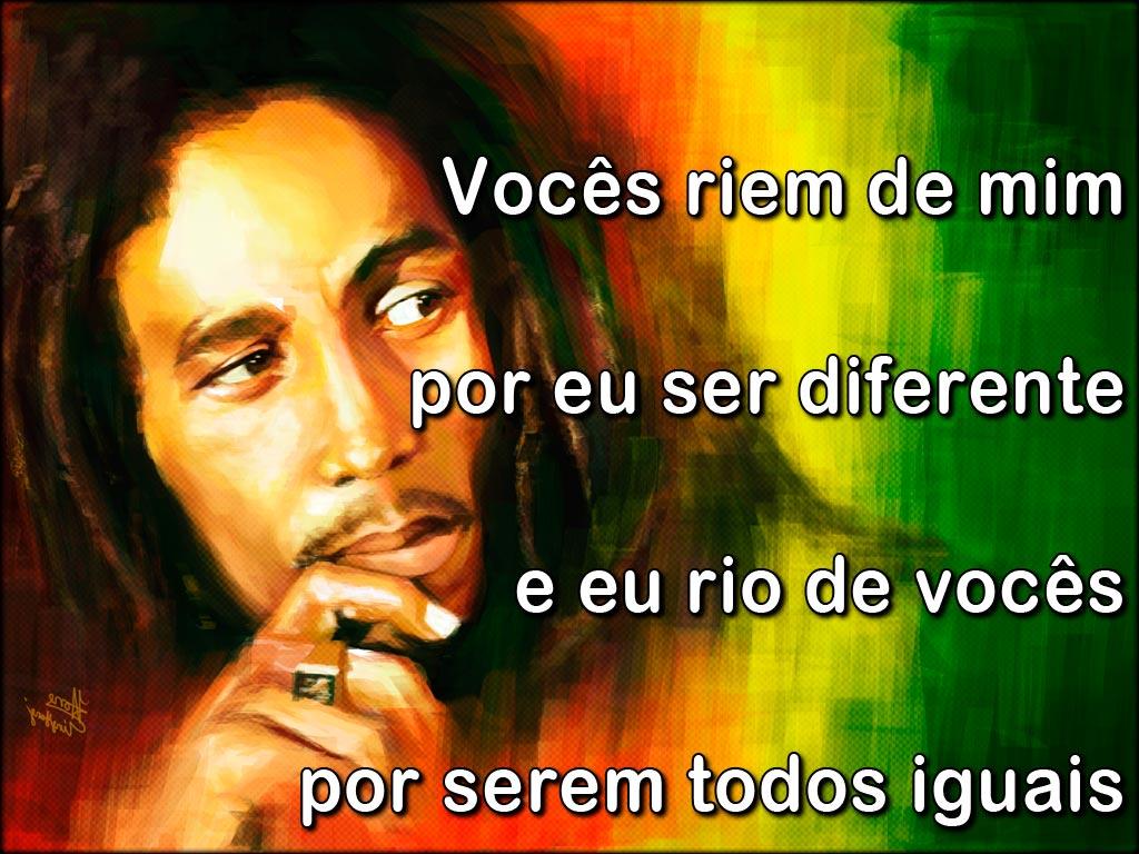 Recados Frases Romanticas De Bob Marley