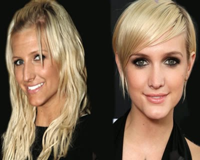 Ashlee Simpson Nose Job