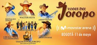 Festival VOCES DEL JOROPO 2019 en Bogotá | Movistar Arena