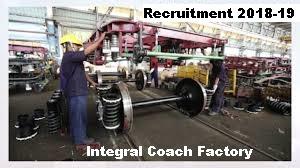 Integral Coach Factory Recruitment 2018 - Bestjobs