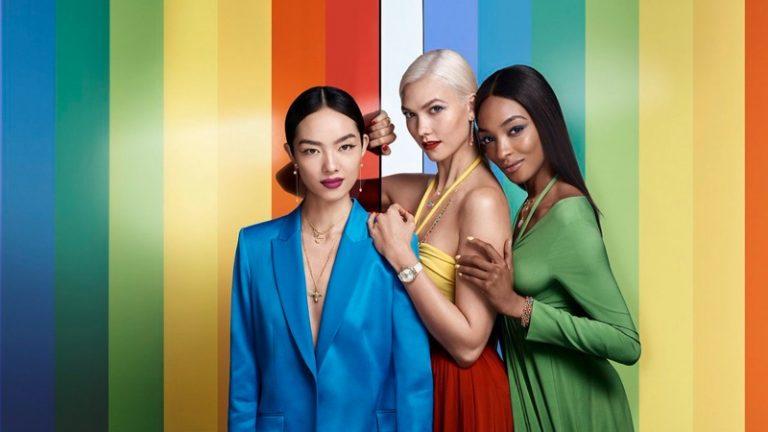 Swarovski Spring/Summer 2018 Campaign featuring Karlie Kloss