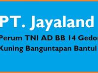 INFO Lowongan Kerja SLTP/SMP Office Boy PT JAYALAND Bantul Terbaru