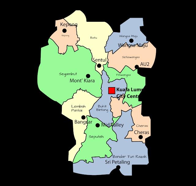 Senarai Lokasi Menarik Di Kuala Lumpur