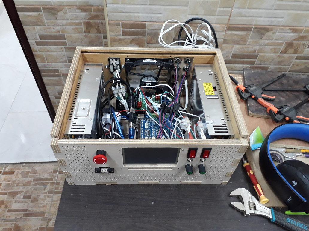 SoulSamurai: Crudely Consolidating CNC Components