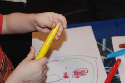 crayons craie