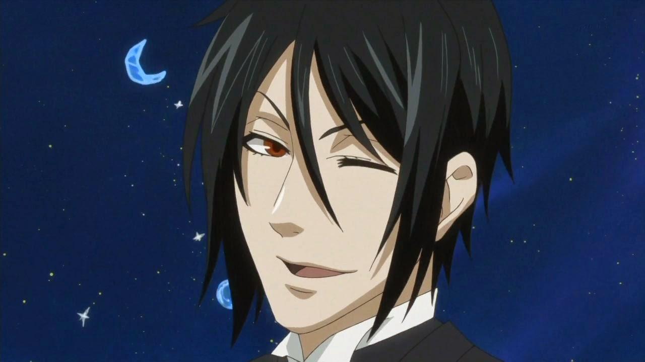 Sebastian Michaelis, Sebby, Demon Butler, Kuroshitsuji, hottest anime guys
