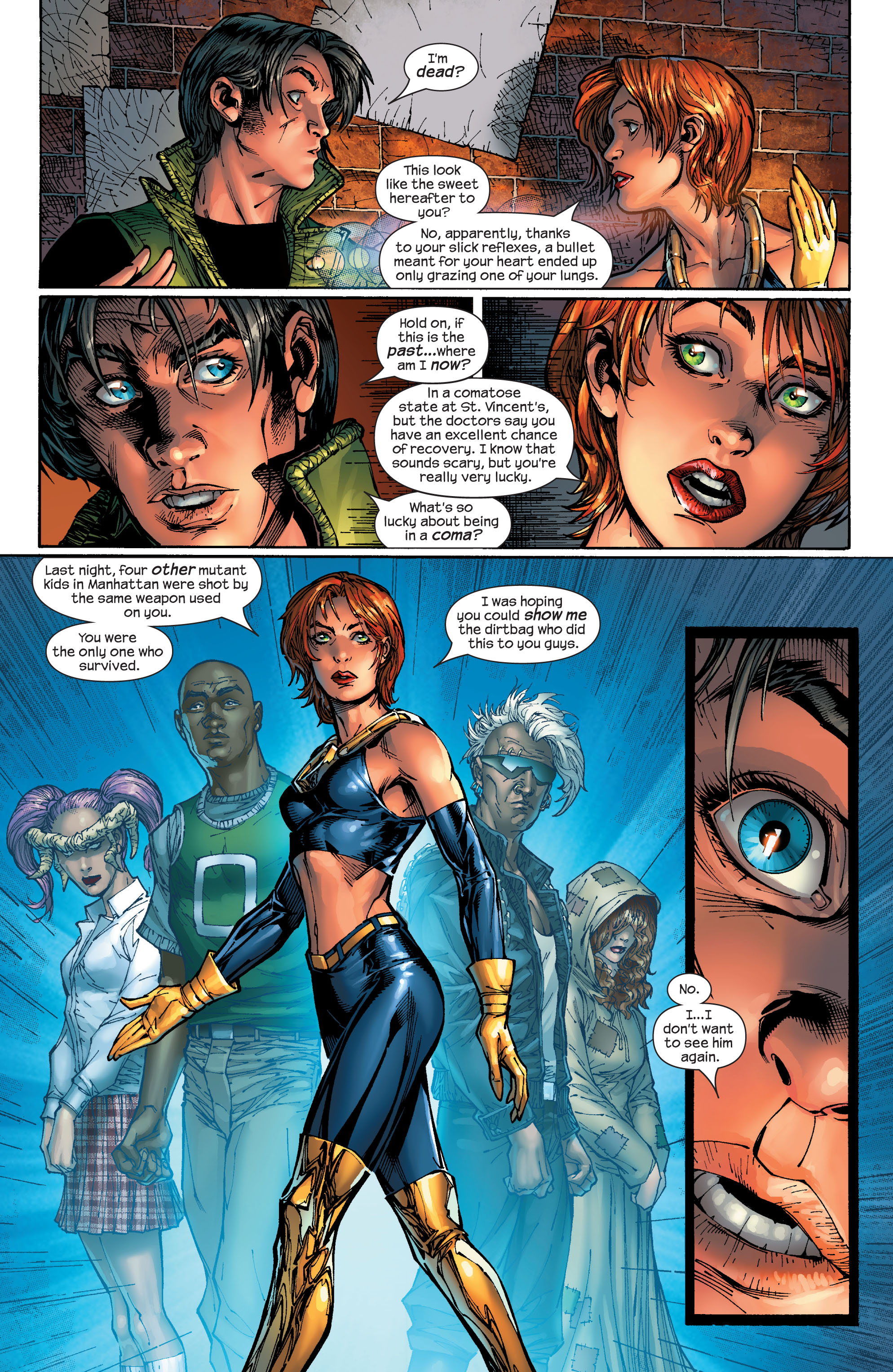 Read online Ultimate X-Men comic -  Issue #47 - 5