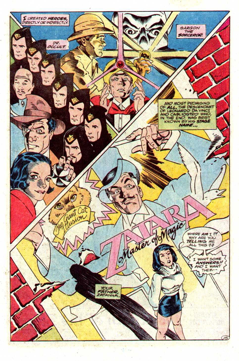 Read online Secret Origins (1986) comic -  Issue #27 - 16
