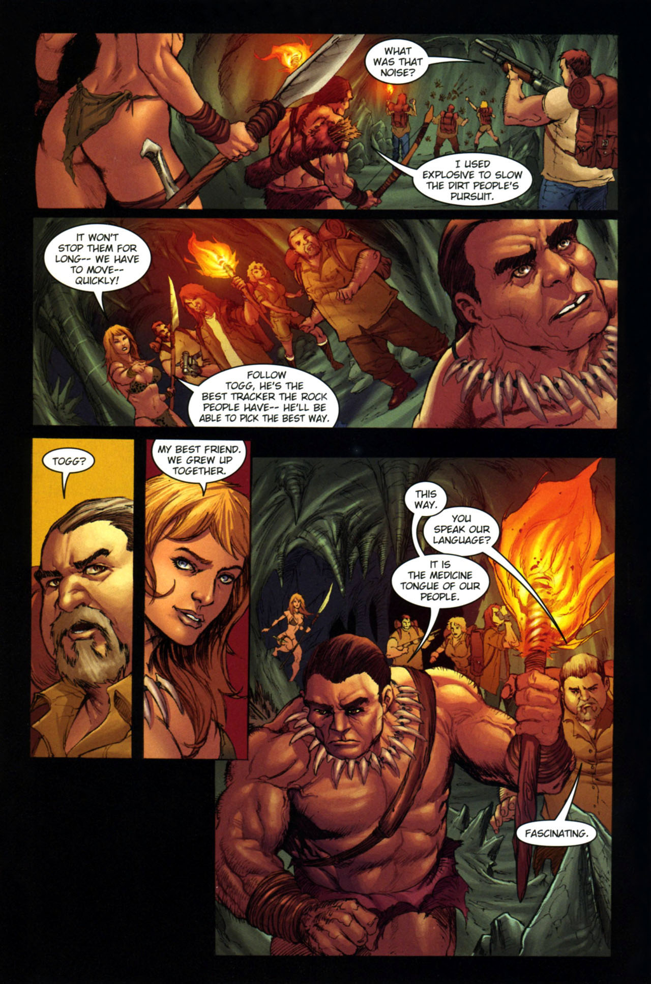 Read online Jungle Girl comic -  Issue #4 - 15