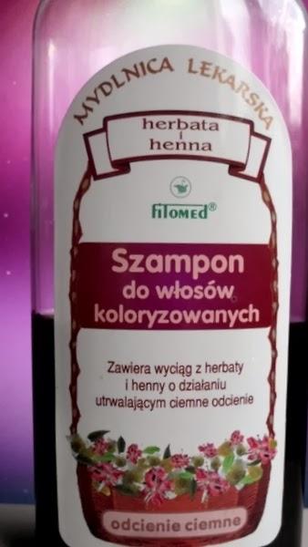 Fitomed Mydlnica Lekarska, szampon do włosów koloryzowanych