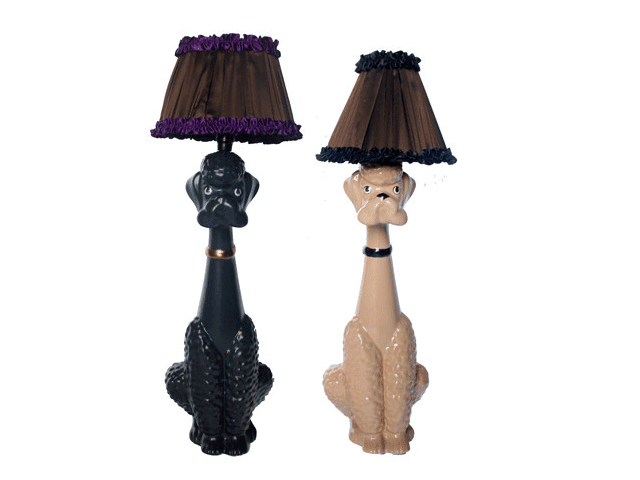 Caniches lampes d'Abigail Ahern