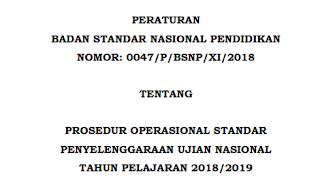 Download Jadwal Ujian Nasional UNBK dan UNKP SMP-SMA-SMK Sederajat Sesuai POS UN Tahun 2018/2019