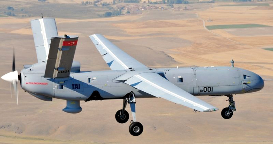 UAV MALE Anka Turki (Turkish Aerospace Industries)