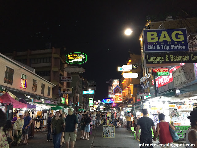 Улица Каосан, Бангкок