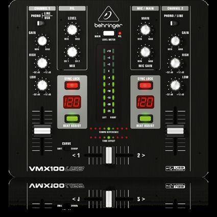 Kurnia Musik Semarang Behringer Vmx100usb Dj Mixer