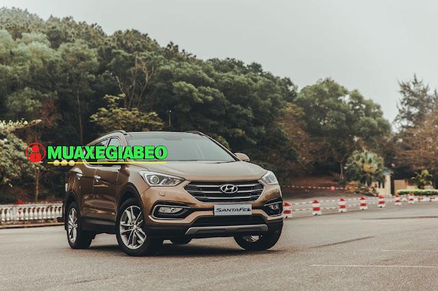 Giới thiệu Hyundai SantaFe 2.4L máy xăng phiên bản tiêu chuẩn 2WD ảnh 2