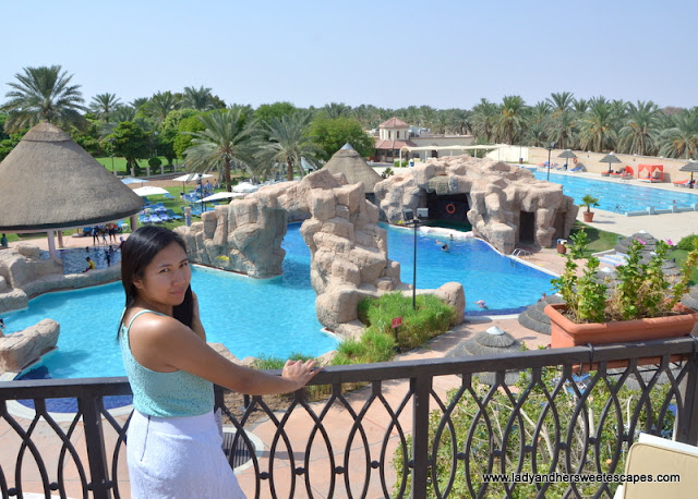 Danat Al Ain Resort swimming pool