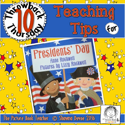 Presidents's Day Teaching Tips - TBT