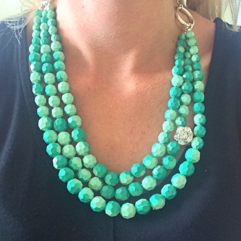 f6bf41390a326 Thrifty Wife, Happy Life: Colorful Statement Necklaces