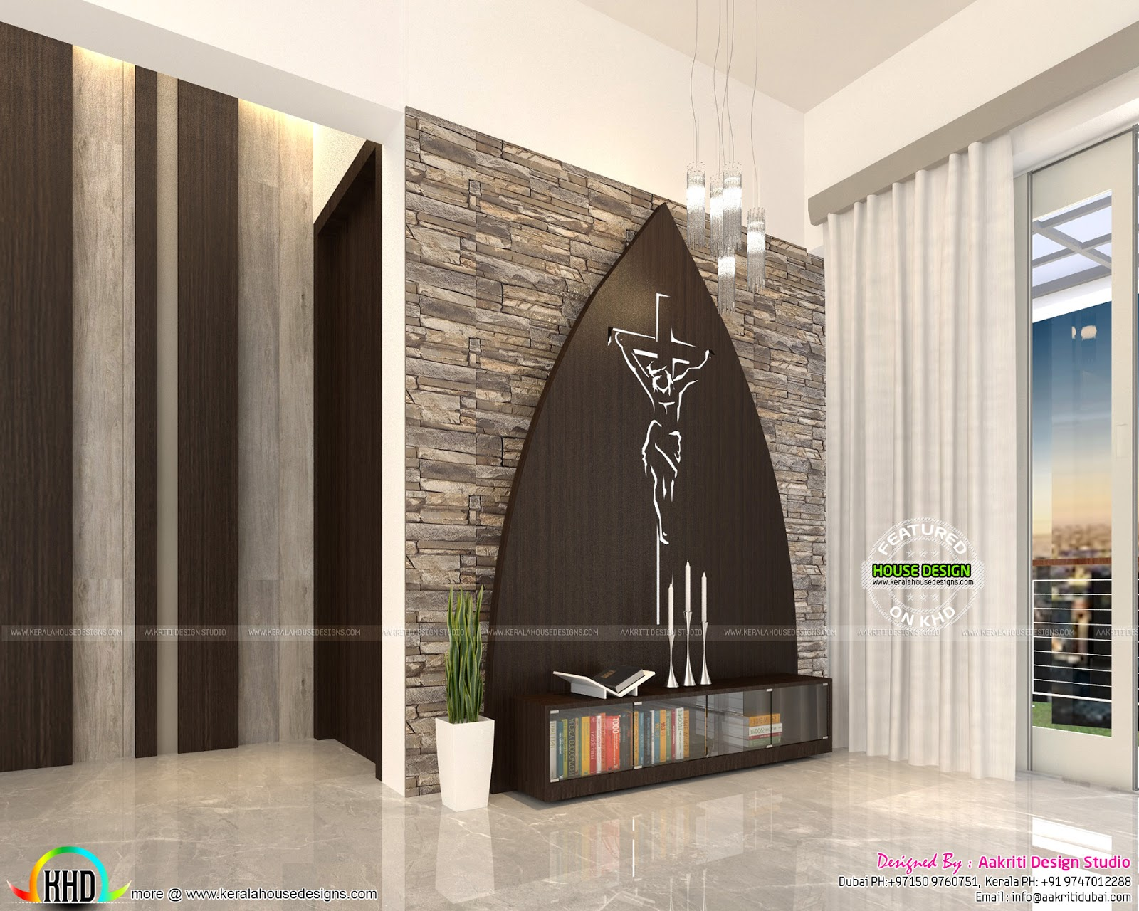 Flat interior designs in kerala kerala home design and for Designers room
