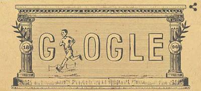 Sejarah Olimpiade Modern Pertama di Google Doodle