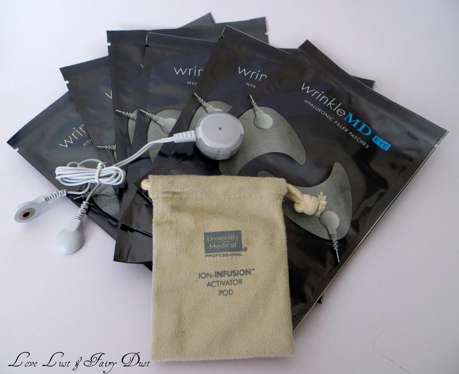 WrinkleMD Eye Hyaluronic Filler Patch System review