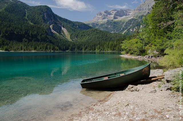 Lago di Tovel rutas norte Italia paisajes